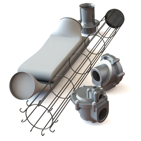 Запасные части и комплектующие для рукавных фильтров