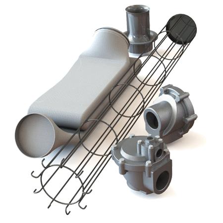 Запасные части для рукавных фильтров