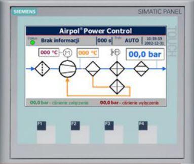 Микропроцессорный контроллер AIRPOL POWER CONTROL S7-1200