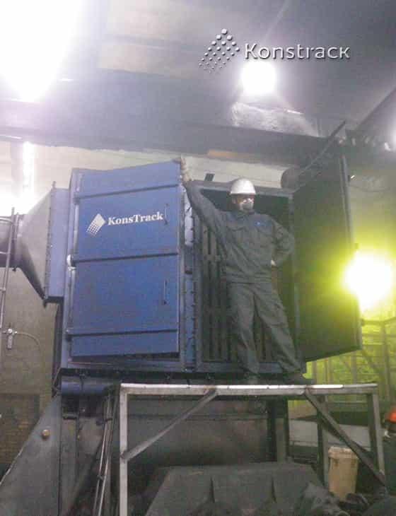Аспирация конвейера коксохимического производства