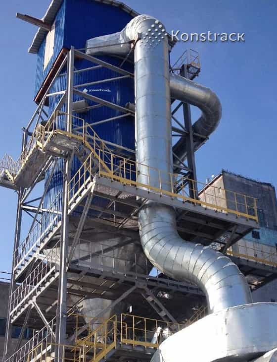 Очистка дымовых газов угольной котельной