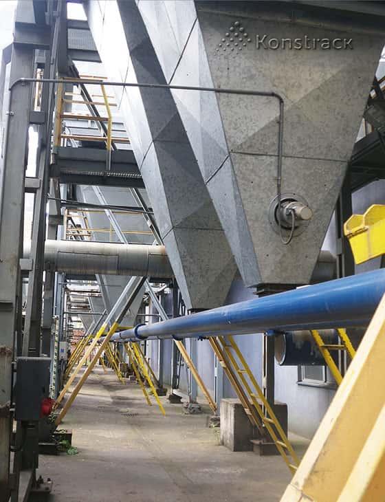 Винтовые конвейеры (шнеки) для аспирационных систем