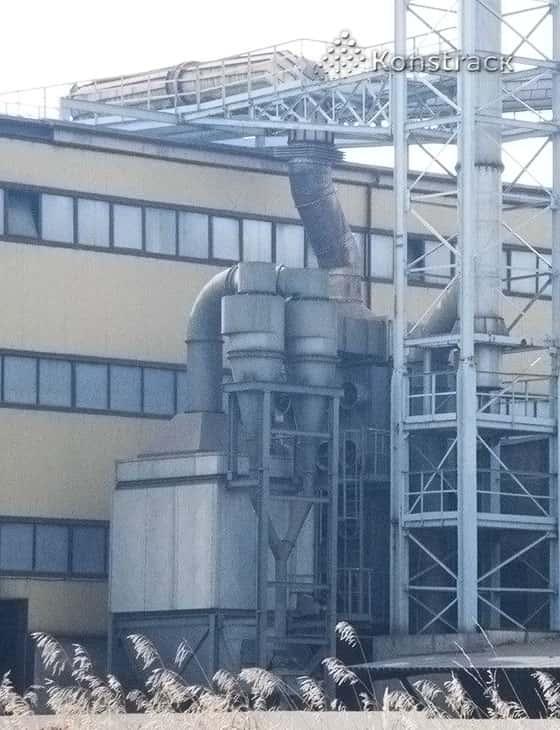 Циклон для металлургического производства