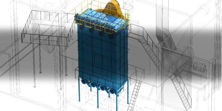 Модернизация конструкции рукавного фильтра