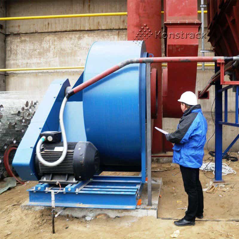 Промышленные вентиляторы для системы пылеудаления наладка работы